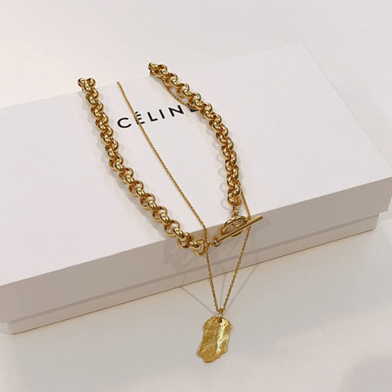 mood&volume chain necklace