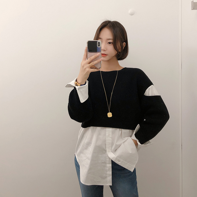 alexanderwang shirt knit(black)