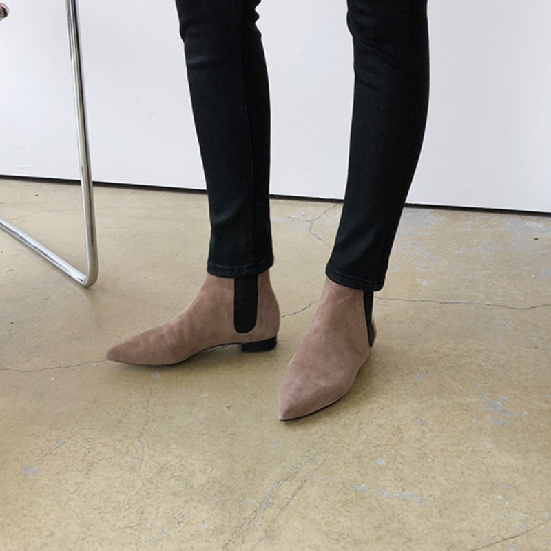 acne suede chelsea boots