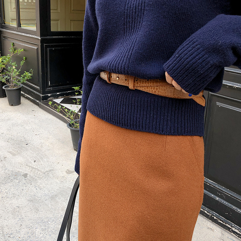 chic crock belt