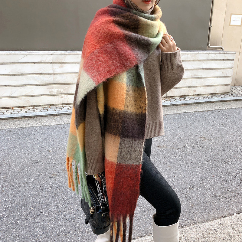acne mohair muffler(2COLOR)