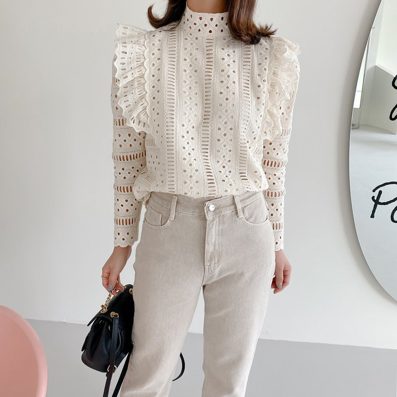 isabel embroidery blouse