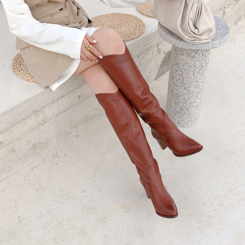 weston edge long boots