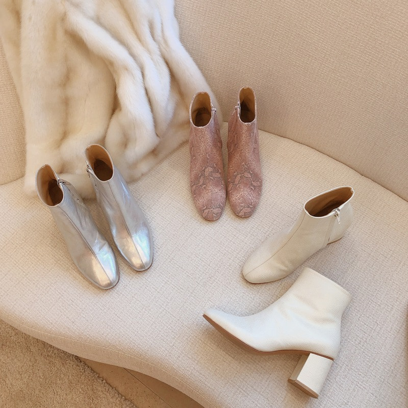 bloggerbok wonderful round ankle boots