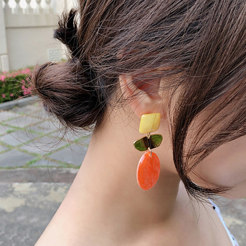 sunset earring