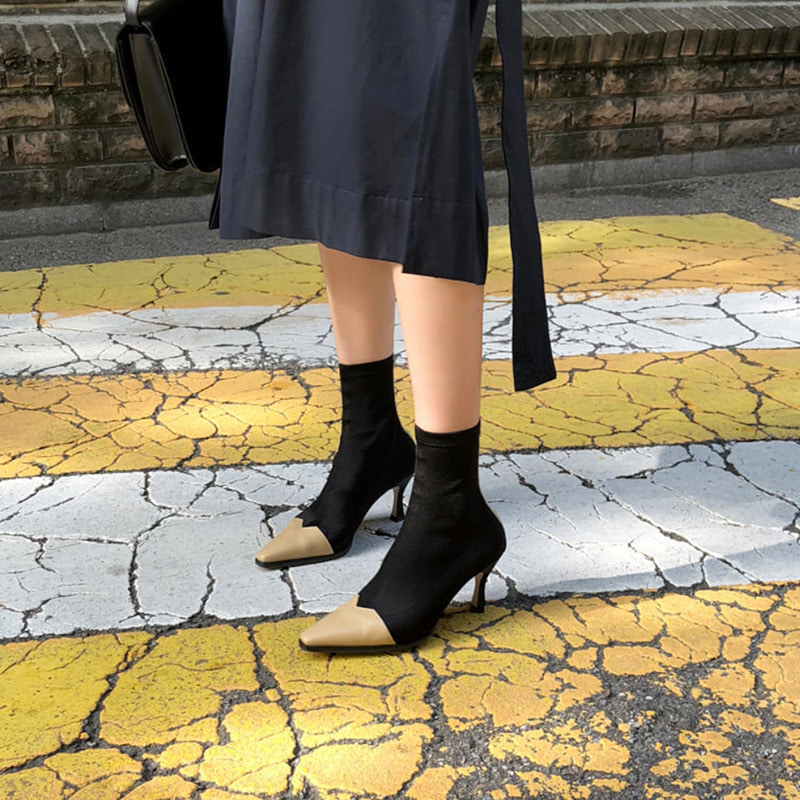celine span ankle boots