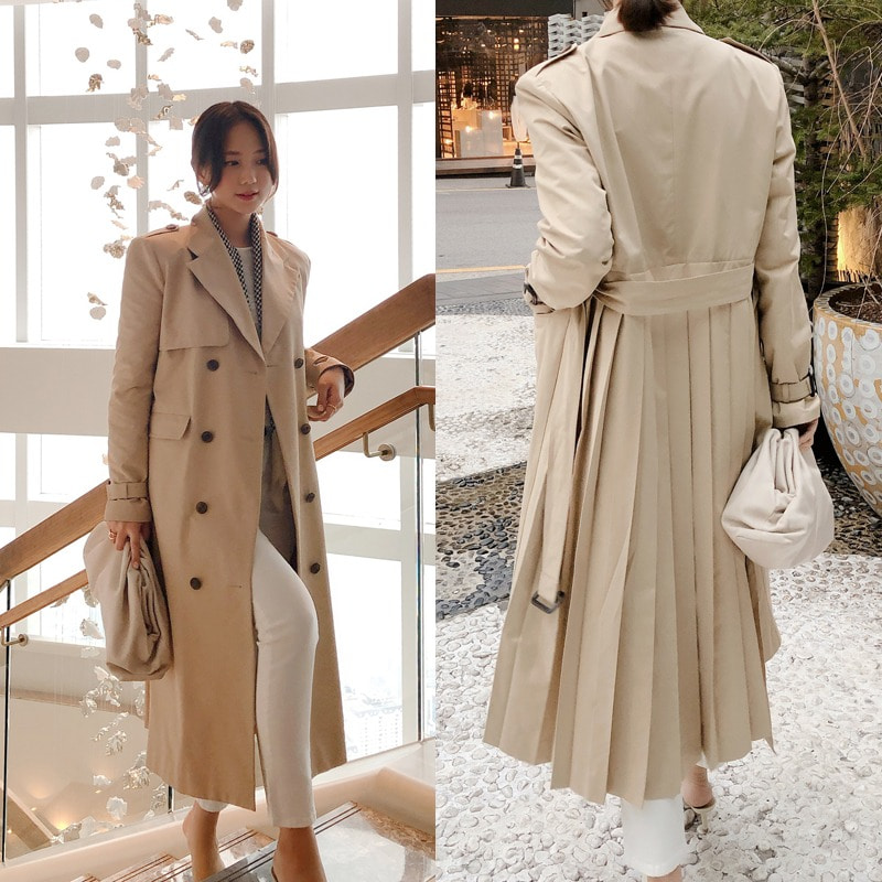 할인이벤트 진행/bloggerbok pleat trench coat
