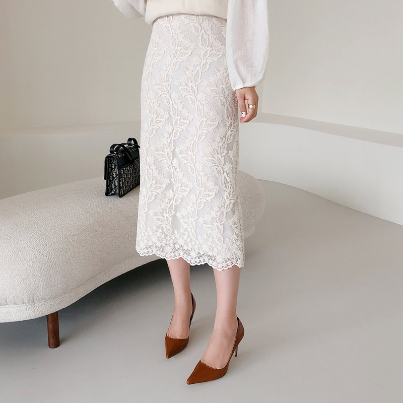 rosemary lace skirt