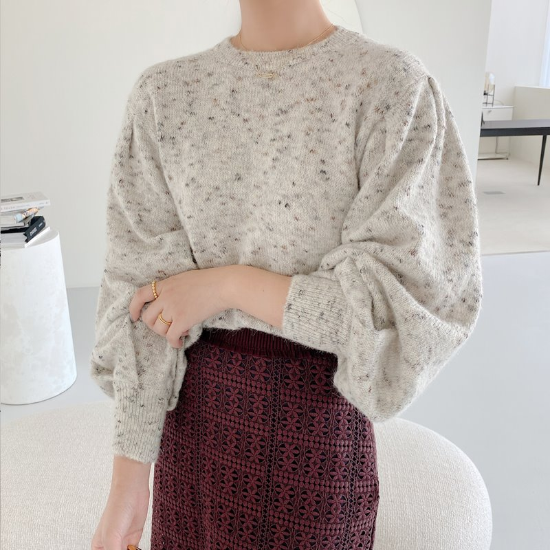 isabel puff knit(2color)
