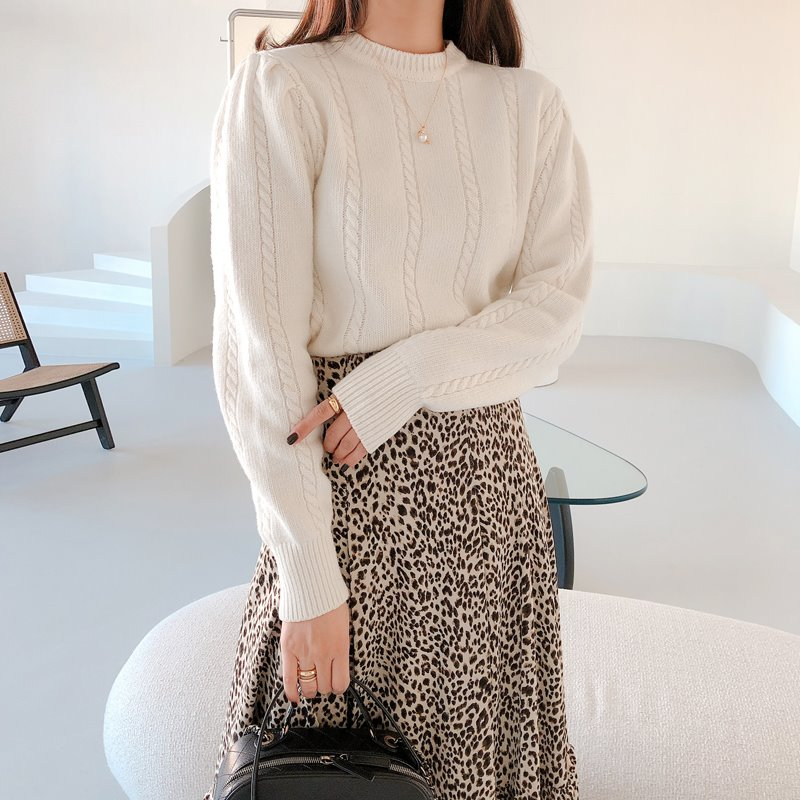 twist shirring knit(아이보리, 핑크)